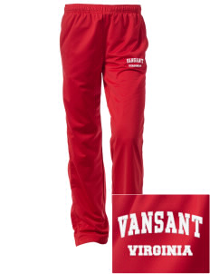 Vansant Embroidered Women's Tricot Track Pants