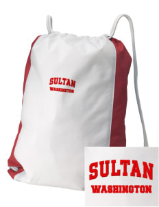 Sultan Embroidered Holloway Home and Away Cinch Bag