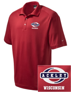 Ackley Embroidered Nike Men's Dri-Fit Classic Polo