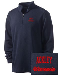 Ackley Embroidered Nike Men's Golf Heather Cover Up