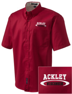 Ackley Embroidered Men's Easy Care Shirt