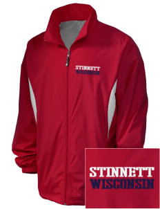 Stinnett Embroidered Holloway Men's Full-Zip Jacket