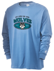 Aldo Leopold High School Wolves  Russell Men's Long Sleeve T-Shirt