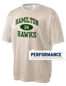 Hamilton Elementary School Hawks Men's Competitor Performance T-Shirt