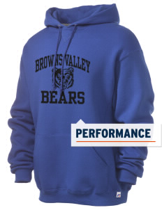 Browns Valley Elementary School Bears Russell Men's Dri-Power Hooded Sweatshirt