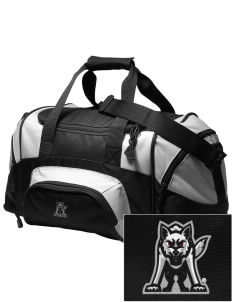 University of South Dakota Coyotes Embroidered Small Colorblock Duffel