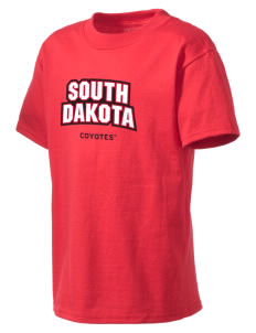 University of South Dakota Coyotes Kid's Lightweight T-Shirt