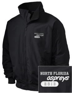 University of North Florida Ospreys Embroidered Holloway Men's Tall Jacket
