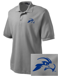 University of North Florida Ospreys Embroidered Tall Men's Silk Touch Polo