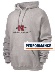 Nicholls State University Colonels Russell Men's Dri-Power Hooded Sweatshirt