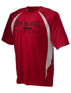 Jim Bloggs School Tigers Champion Men's Double Dry Elevation T-Shirt