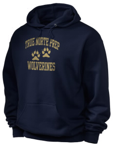 True North Prep Wolverines Holloway Men's 50/50 Hooded Sweatshirt
