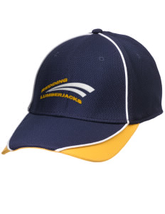 Redding Adventist Academy Lumberjacks Embroidered New Era Contrast Piped Performance Cap