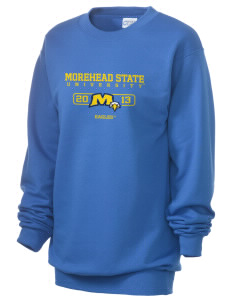 Morehead State University Eagles Unisex 7.8 oz Lightweight Crewneck Sweatshirt