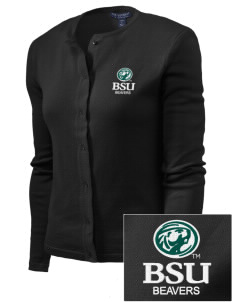 Bemidji State University Beavers Embroidered Women's Cardigan Sweater