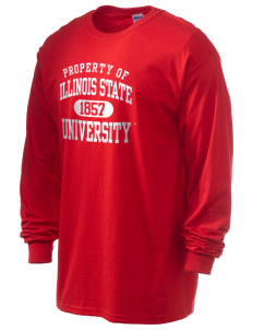 Illinois State University Redbirds 6.1 oz Ultra Cotton Long-Sleeve T-Shirt