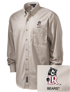 Lenoir-Rhyne University Bears Embroidered Tall Men's Twill Shirt