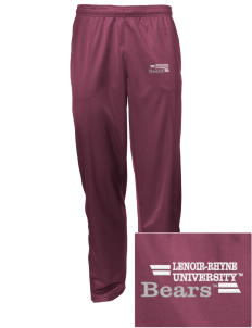 Lenoir-Rhyne University Bears Embroidered Men's Tricot Track Pants
