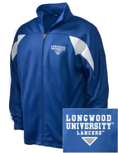 Longwood University Lancers Embroidered Holloway Men's Full-Zip Track Jacket