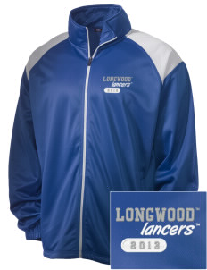 Longwood University Lancers Embroidered Men's Tricot Track Jacket