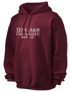 Texas A&M International University Dustdevils Ultra Blend 50/50 Hooded Sweatshirt