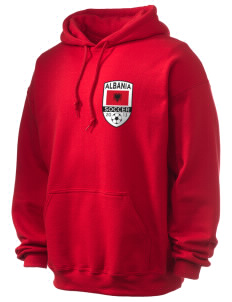 Albania Soccer Ultra Blend 50/50 Hooded Sweatshirt