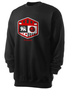Albania Soccer Men's 7.8 oz Lightweight Crewneck Sweatshirt