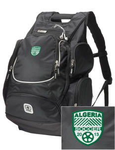 Algeria Soccer  Embroidered OGIO Bounty Hunter Backpack