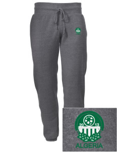 Algeria Soccer Embroidered Alternative Men's 6.4 oz Costanza Gym Pant