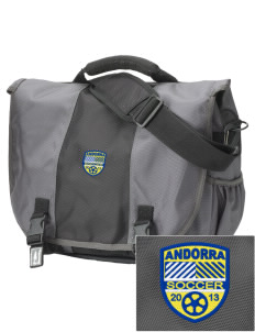 Andorra Soccer  Embroidered Montezuma Messenger Bag