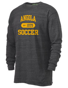Angola Soccer Alternative Men's 4.4 oz. Long-Sleeve T-Shirt