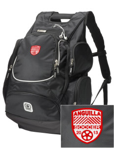 Anguilla Soccer  Embroidered OGIO Bounty Hunter Backpack