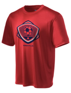 Anguilla Soccer Champion Men's Wicking T-Shirt