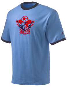 Anguilla Soccer Champion Men's Ringer T-Shirt