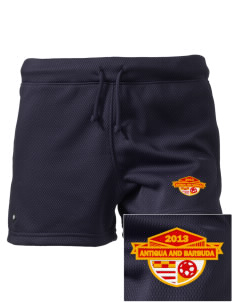 "Antigua and Barbuda Soccer Embroidered Holloway Women's Balance Shorts, 3"" Inseam"