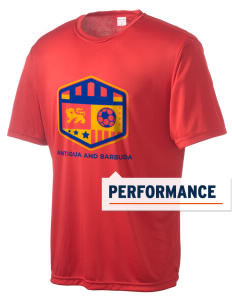 Antigua and Barbuda Soccer Men's Competitor Performance T-Shirt