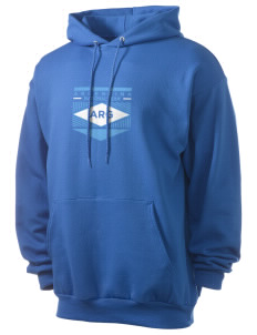 Argentina Soccer Men's 7.8 oz Lightweight Hooded Sweatshirt