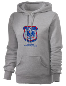 Armenia Soccer Russell Women's Pro Cotton Fleece Hooded Sweatshirt