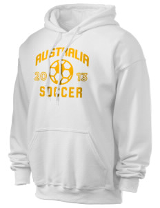 Australia Soccer Ultra Blend 50/50 Hooded Sweatshirt