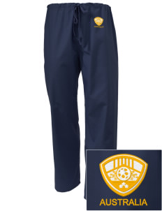 Australia Soccer Embroidered Scrub Pants