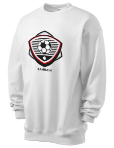 Bahrain Soccer Men's 7.8 oz Lightweight Crewneck Sweatshirt