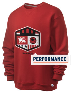 Bahrain Soccer  Russell Men's Dri-Power Crewneck Sweatshirt