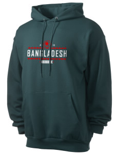 Bangladesh Soccer Men's 7.8 oz Lightweight Hooded Sweatshirt