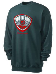 Bangladesh Soccer Men's 7.8 oz Lightweight Crewneck Sweatshirt