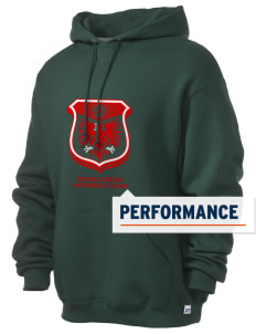 Bangladesh Soccer Russell Men's Dri-Power Hooded Sweatshirt