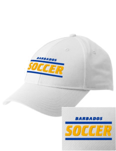 Barbados Soccer  Embroidered New Era Adjustable Structured Cap
