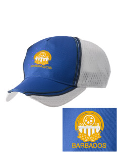 Barbados Soccer  Embroidered Champion Athletic Cap