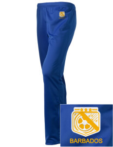 Barbados Soccer Embroidered Holloway Women's Contact Warmup Pants
