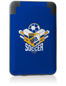 Barbados Soccer Kindle Keyboard 3G Skin
