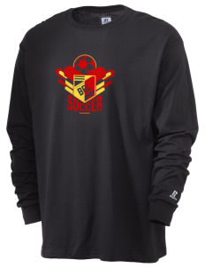 Belgium Soccer  Russell Men's Long Sleeve T-Shirt